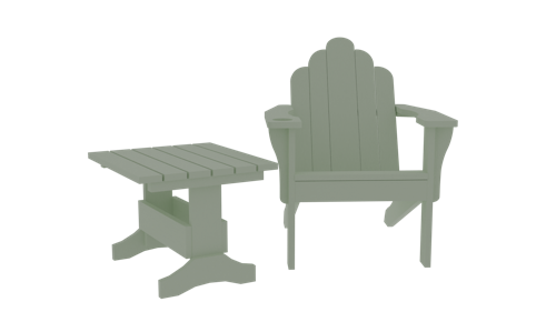 Adirondack Chair & Table preview image