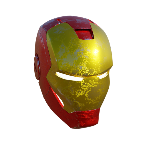 iron man helmet (fan art) preview image