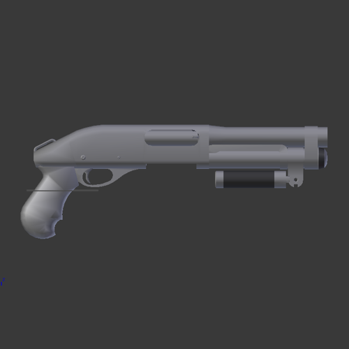 SS12ga Super Shorty Shotgun (AOW) preview image