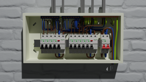 UK Electrical Distribution Box preview image