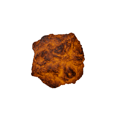 Procedural Lava Shader (For Cycles) preview image