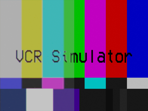 VHS Simulator preview image