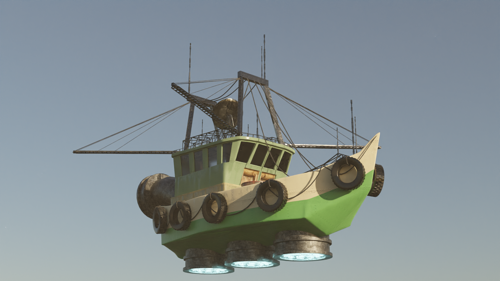 Fishing trawler...? preview image