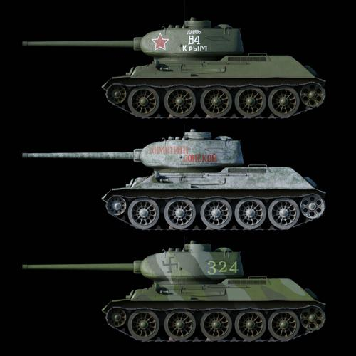 T-34 Russian Tank preview image