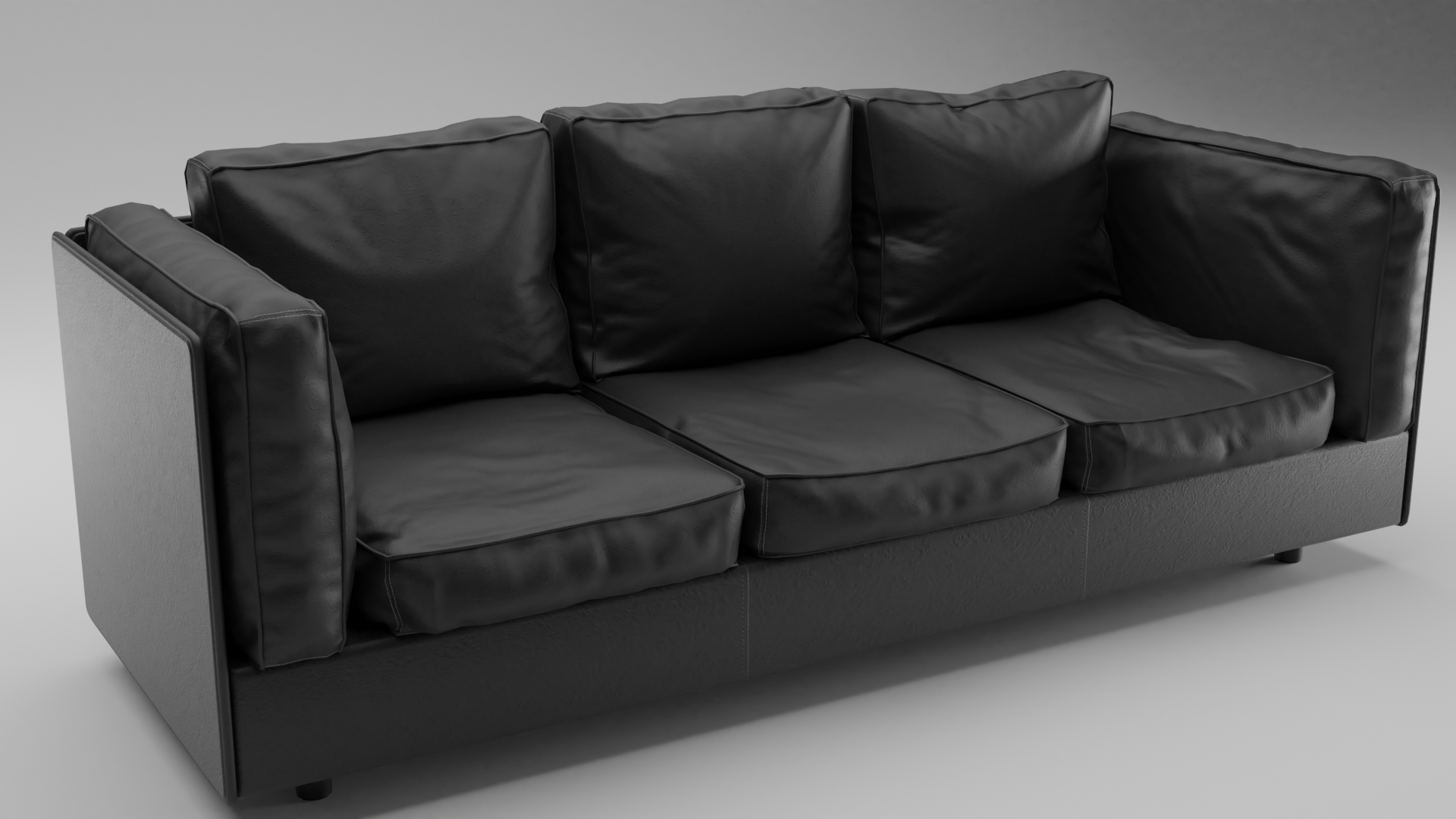 Leather Sofa preview image 1
