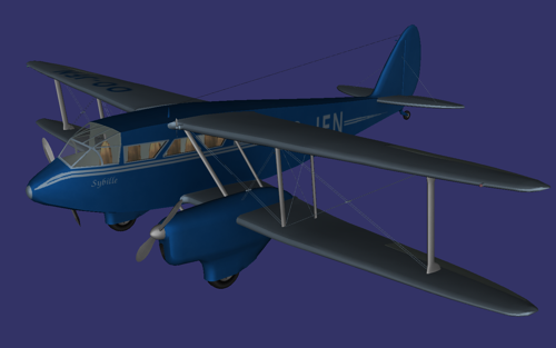 De Havilland DH 89 Dragon Rapide preview image