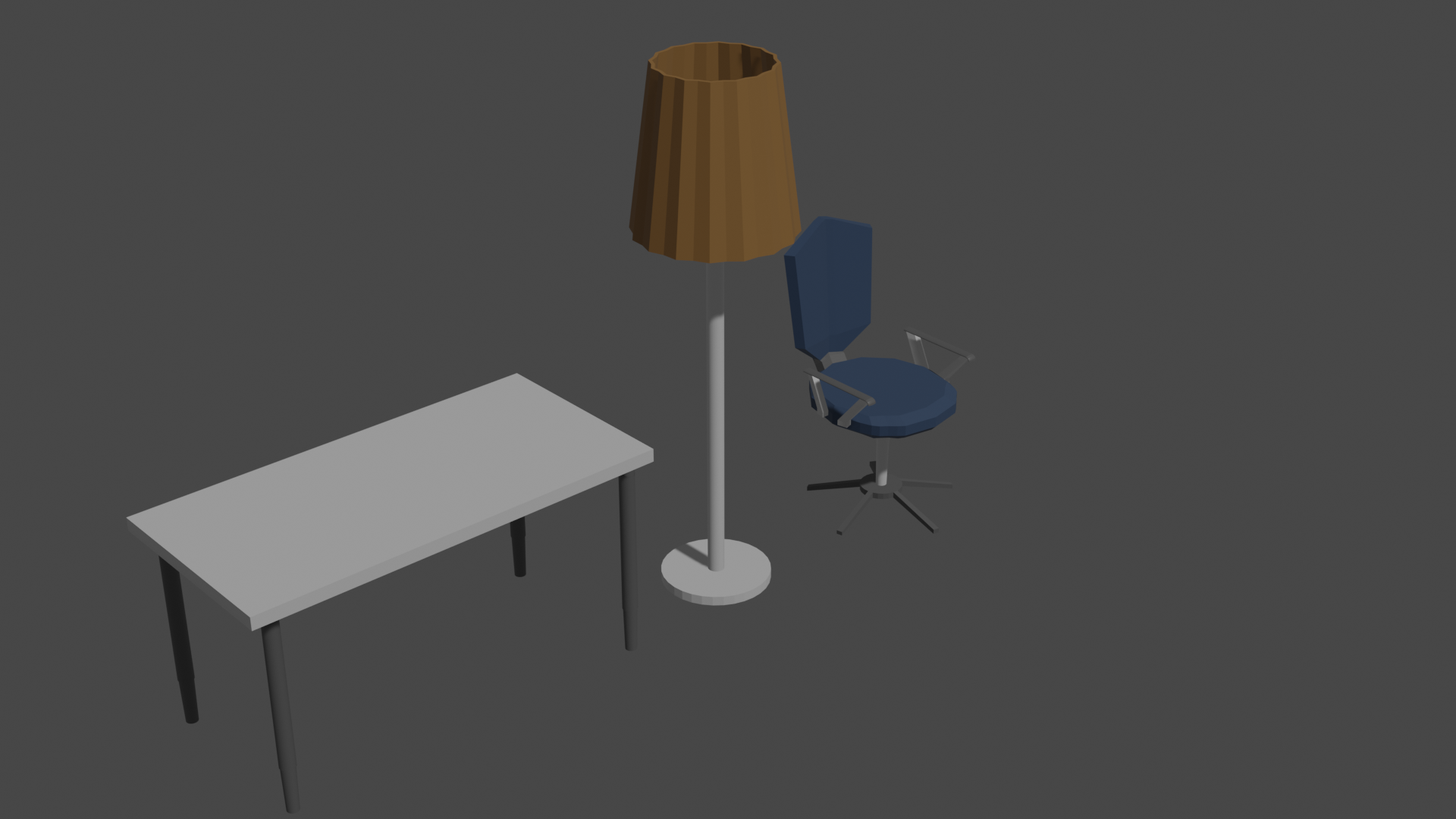 Low Poly Furniture  preview image 1