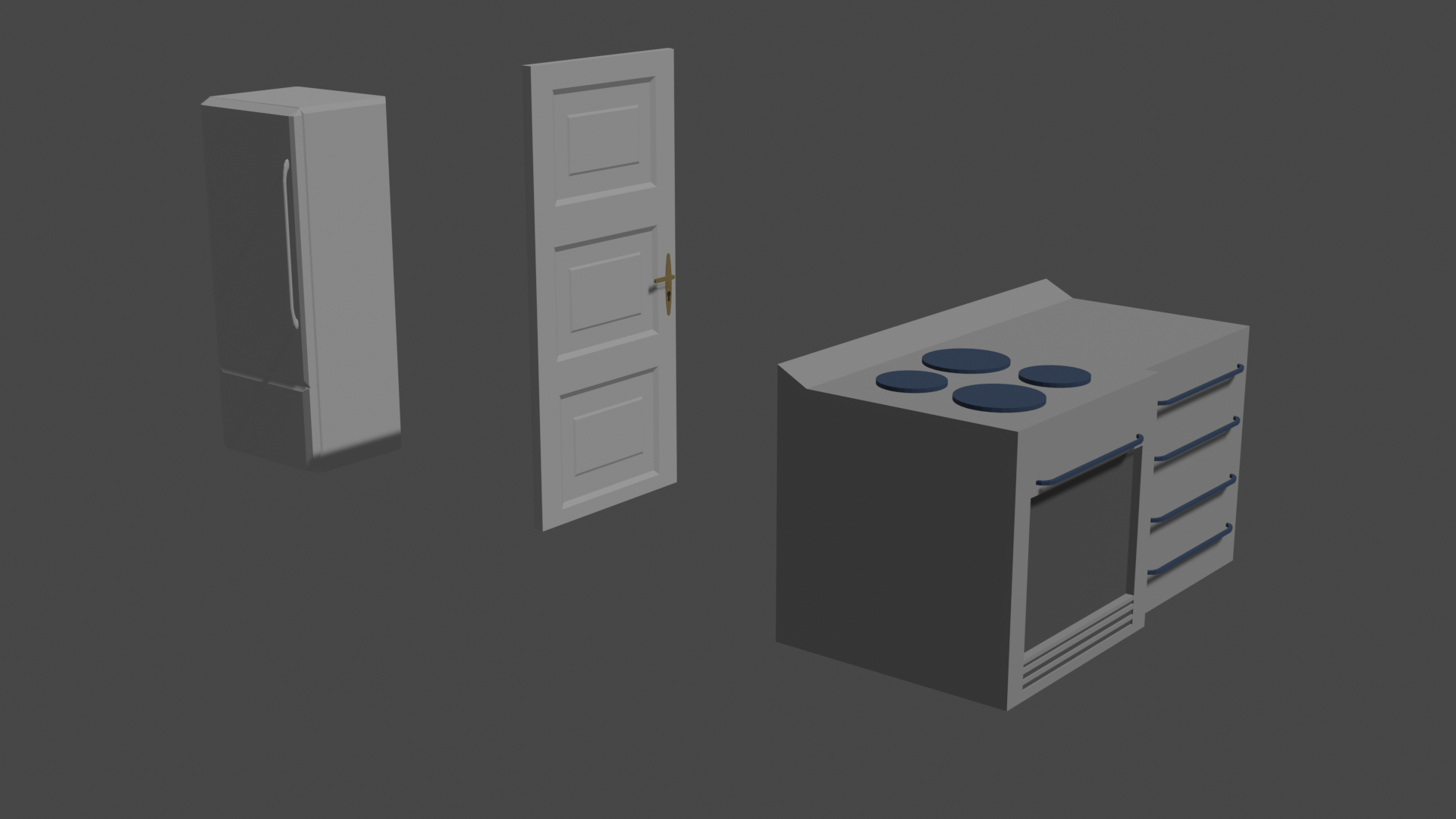 Low Poly Furniture  preview image 3