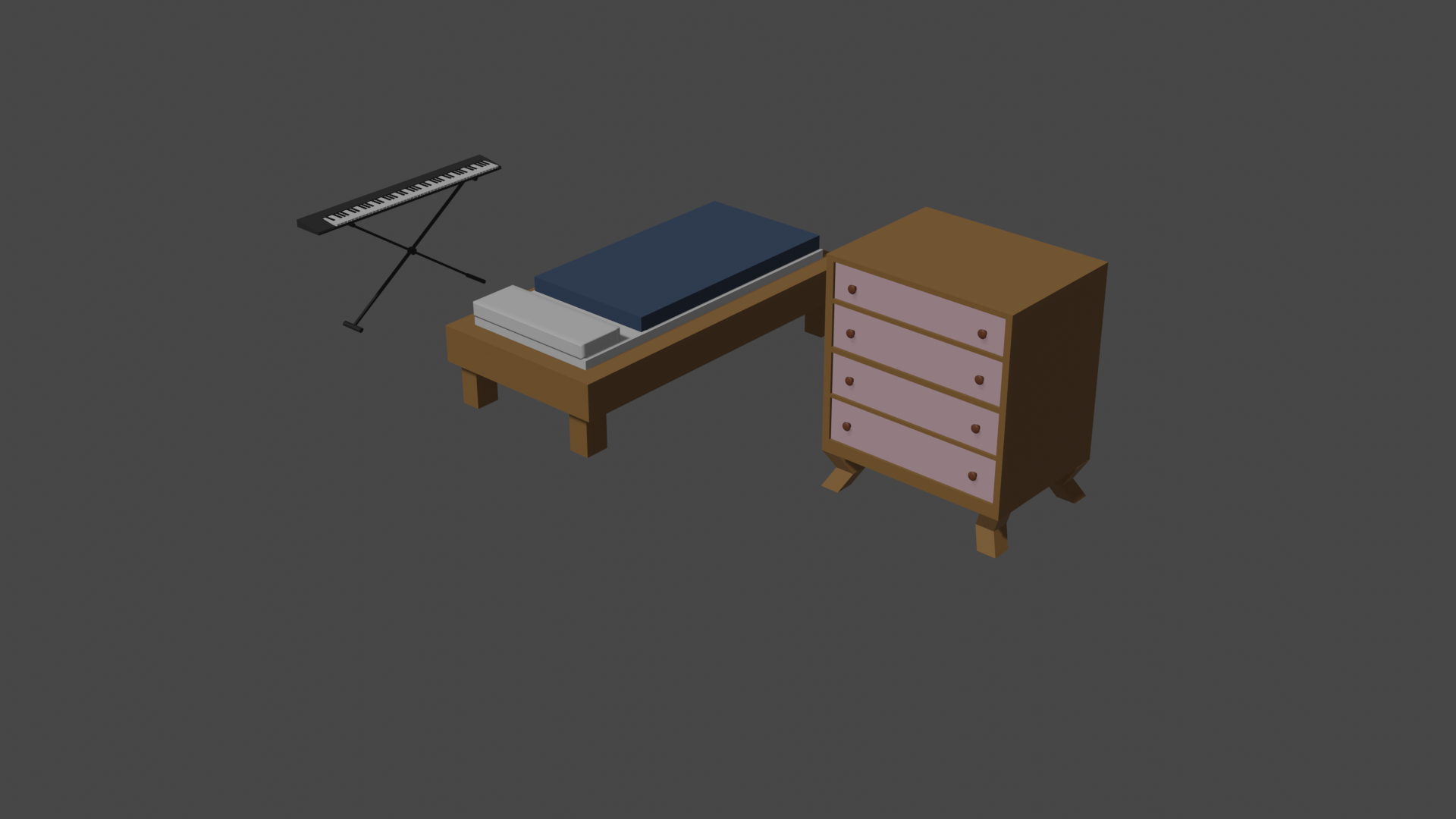 Low Poly Furniture  preview image 4