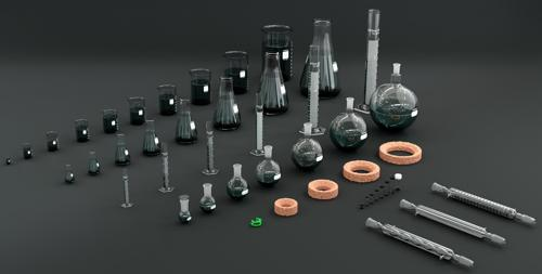 Laboratory Glassware Bundle Part 1 preview image