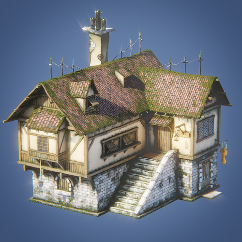 Medieval House 003 preview image